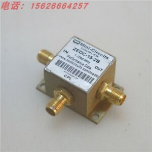 Mini circuits Zedc 15 2b 1 1000mhz 15db Rf Sma Coupler