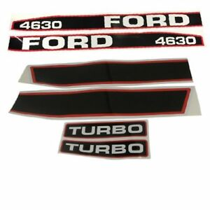 Decal Set For Ford New Holland 4630