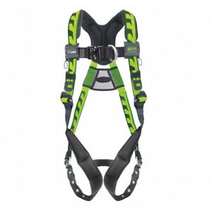 Miller Aaf tb23xg Aircore Full Body Harness 2 3xl Front And Back D ring
