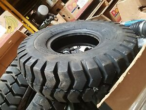 Sta Forklift Tire 6 90 9 Nhs Industrial Lug Specialty Tires