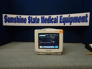 Philips Mp5 Patient Monitor With Msco2 Option B44 Software