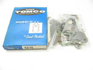 Tomco 5278 Carburetor Rebuild Kit For Holley 4150 4 bbl 700 750 800 Cfm