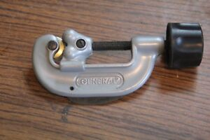 General Tools No 120 Tubing Cutter 1 8 To 1 1 8
