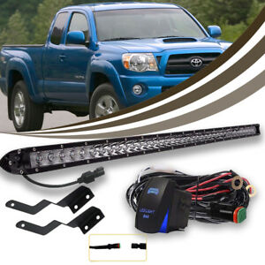 150w 30 Led Light Bar Lower Grille Bumper W Wirings For 2005 15 Tacoma