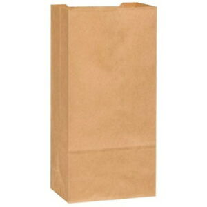 Duro Tiger Flat Bottom Paper Grocery Bag Kraft 25 Lb 500 pack