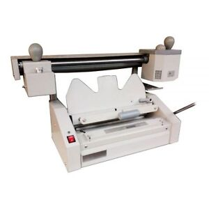 320 235mm Perfect Binding Machine dust free Spine Roughening Unit Book Binder