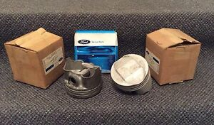 Nos Ford Boss 429 820 t Forged Trw Pistons Pins Rings C9ae 6110 b Full Set 8