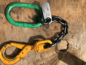 Chain Lifting Choker With Yoke Swivel Locking Hook Wll 7100 Grade 8 1 2 6