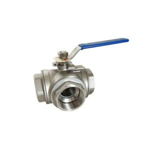2inch Dn50 Stainless Steel Vacuum Ball Valve Pumps Plumbing Supply New Arrival