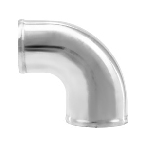 Cxracing Polished Cast Aluminum 90 Degree 3 2 5 O D Reducer Elbow Pipe