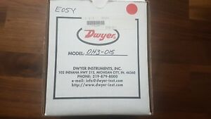 New Dwyer Differential Pressure Controller Dh3 015 Dh3015 1 0 To 1 0 W c Usa