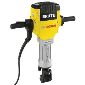 Bosch Brute Hex Breaker Hammer Kit 15 Amp 1 1 8 In With Cart And 2 Chisels