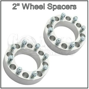 2 Wheel Spacers 2 Inch 8x170 For Ford F350 2003 2017 F250 2003 2009 8 Lug