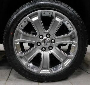 4 Genuine Gmc Sierra Yukon Denali Slt 22 Inch Wheels Tires Rims Oem Bridgestone