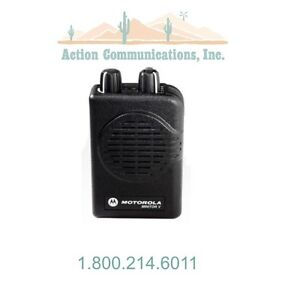 New Motorola Minitor V Vhf 151 159 Mhz 2 Frequency Stored Voice