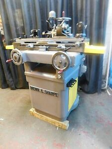 Brown Sharpe 10n Tool cutter Grinding Machine universal W centers More