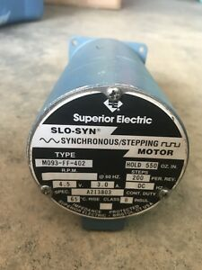 Superior Electric Slo syn Mo93 ff 402 Synchronous Stepping Motor