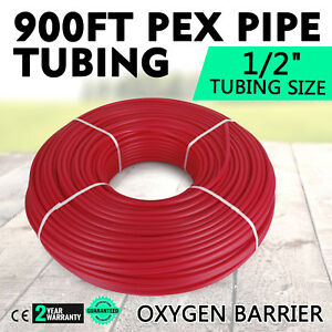 1 2 X 900ft Pex Tubing O2 Oxygen Barrier Radiant Heat