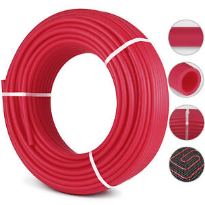 3 4 X 500ft Pex Tubing pipe Non Oxygen Barrier Red Flexible Cold hot Water
