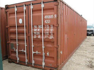 20ft Used Shipping Container In Cargo worthy Condition For Sale In Memphis Tn
