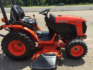 Kubota B2601 Hst Trans 4wd 25 5 Hp Engine Bal Of Factory Warranty Nice