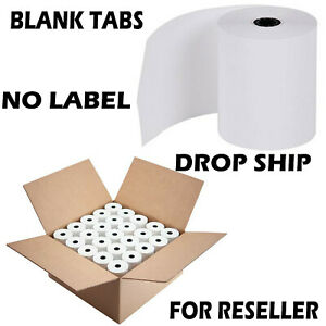 3 1 8 X 230 Thermal Receipt Paper Pos Cash Register 50 Rolls Free Shipping