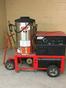 Used Hotsy 980a Hot Water 1ph Diesel 4gpm 2000psi Pressure Washer