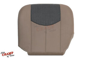 2003 2004 Chevy Avalanche Z71 Z66 Ls Driver Side Bottom Cloth Seat Cover Tan