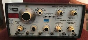 Wavetek 20 Mhz Am fm pm Generator Model 148