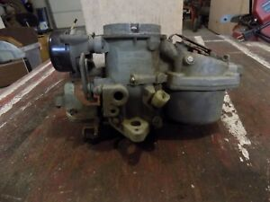 Amc 1964 1971 Carter Carb Model Rbs 1989 1 Barrel Carburetor