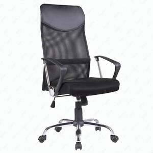 Ergonomic Mesh Computer Office Chair High Back Executive Swivel Chair Task Black