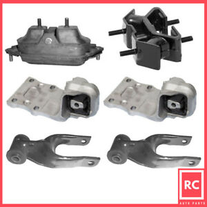 Motor Trans Mount 6pcs Set For 02 09 Chevy Uplander Buick Rendezvous Terraza