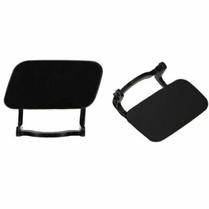 2x Left Right Front Bumper Headlight Washer Cap Cover Jet Kit Fit For Audi A4 B8