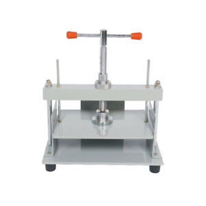 New Steel Bookbinding Press Screw Bookbinder Paper Making Book Press For A4