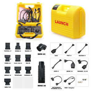 Launch X431 Diagun Iv Diagun Iii 5c Pro Mini Adapter Connector Cable Yellow Box