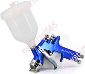 Devilbiss Tt Professional Hvlp Spray Gun Car Paint Gun 1 3 1 4 Nozzle 600cc Pain