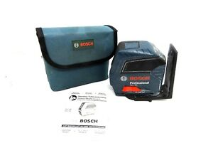 Bosch Gll 50 Self Leveling Cross Line Laser Level Elm