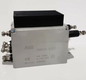 Abb Em010 9317 Traction Voltage Sensor