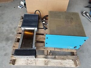 Anorad 4183 Linear Actuator Slide With Controller 10 Travel