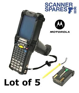 Lot Of 5 Motorola Symbol Mc9090 gf0hjefa6wr 1d Wm5 Barcode Scanner