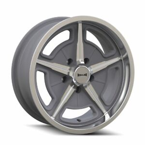 Ridler 605 Wheel Package 17x7 17x8 Staggered For Gm Truck C10 5x5