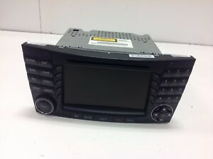 03 08 Mercedes Benz W211 E500 E350 E55 Amg Command Head Unit Navigation Radio Cd
