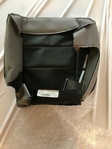 New Oem 2018 Jeep Grand Cherokee Black Leather Rear Right Bottom Seat Cover