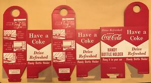 Three 3 Vintage Handy Coca Cola Holders 3x Special Deal Wsl