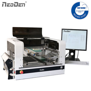 Neoden Smt Pick And Place Machine Maximum 48 Electric Feeders Vision System