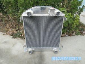 New Aluminum Alloy Radiator For Ford Model A W Flathead Engine 1928 1929 28 29