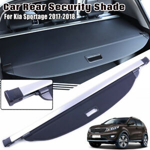 For 2017 2018 Kia Sportage Rear Trunk Luggage Cargo Cover Shade Security Shield