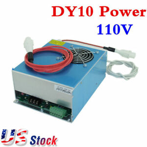 Us Stock 110v Reci Dy10 Power Supply For W2 S2 Co2 Sealed Laser Tube