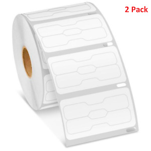 30299 Dymo Compatible Barbell Shape 2 Rolls Price tag Cable tag Jewelry Labels