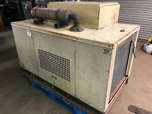 Generac G30 2087 2 Enclosed 30kw Natural Gas Generator Transfer Switch Enclosure